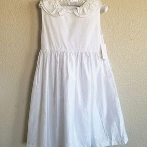 Edgehill Collection Girl Dress white